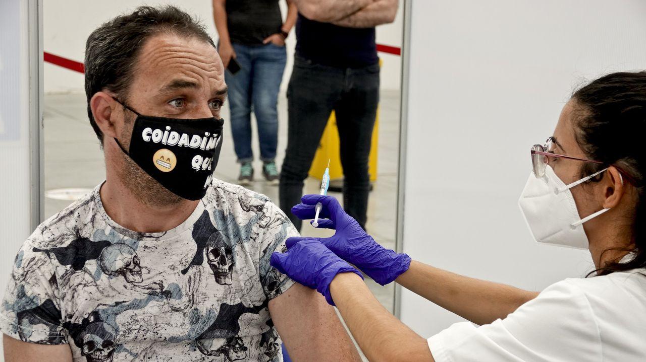 Más de 500 vacunados se han infectado en el último mes en Vigo