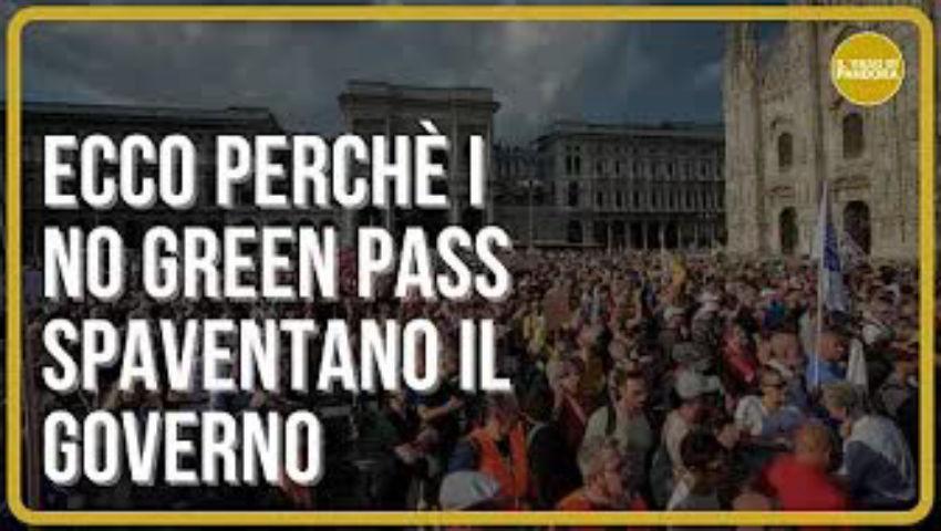 Informati e consapevoli, ecco perchè i No Green Pass spaventano il governo - Paolo Borgognone - PeerTube.it